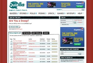 Quizilla Joomla site