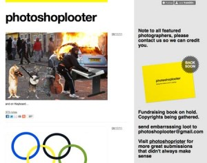 Photoshoplooter Tumblr Blog