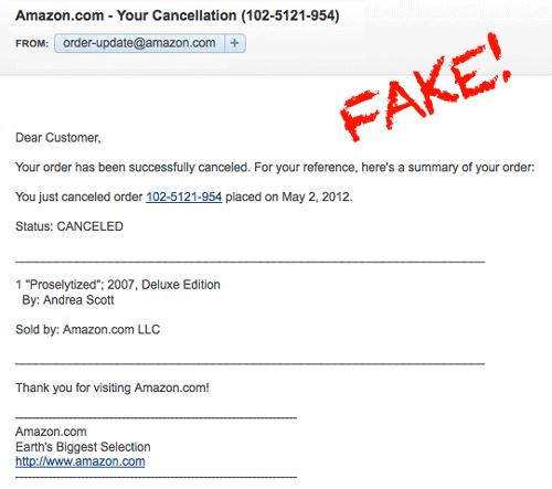 Amazon-Spam-Scam