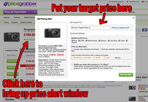 Price Grabber Price Alerts