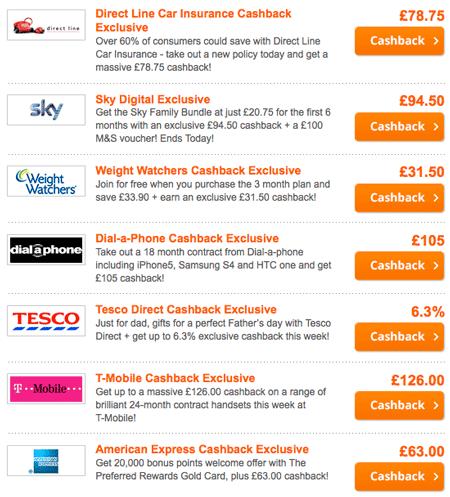 Topcashback-deals