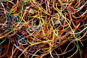 How to clear cord clutter