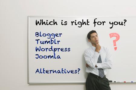 Which-Website-Blogging-Platform-Blogger-Tumblr-Wordpress-Joomla