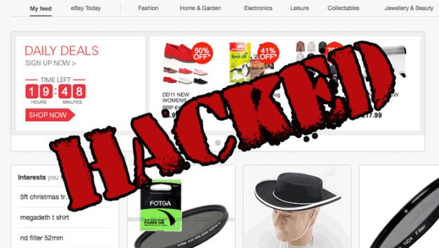 eBay Password Hacked