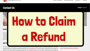 How to claim a refund on ClickBank